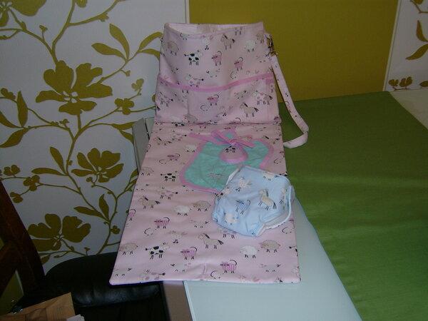 Wickeltasche für Baby Born