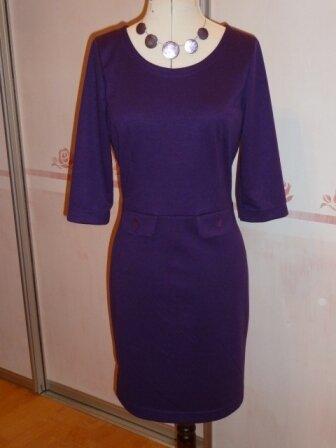 Kleid aus Romanitjersey