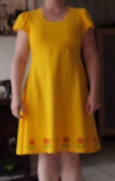 Tunika Ulla als Kleid
