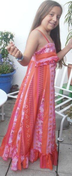 Hippie Kleid Gr.152 nach Bizzkids