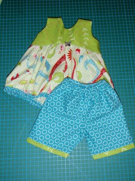 Kleider-Set für die Bambina von Käthe Kruse