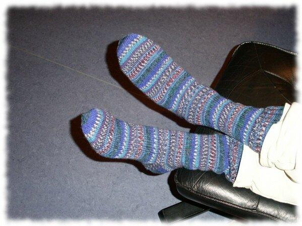 Schlichte Socken in Größe 44