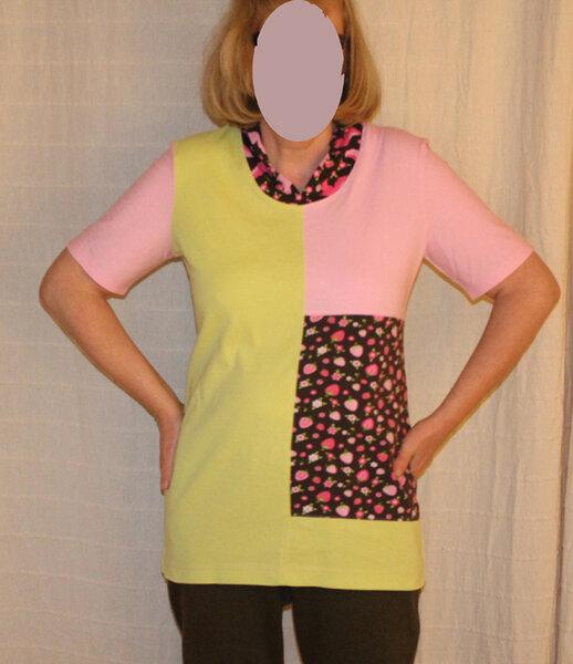 Shirt Patchwork aus Ottobre 5/2012 - etwas verändert