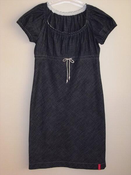 Jeans Kleid aus Burda 5/09