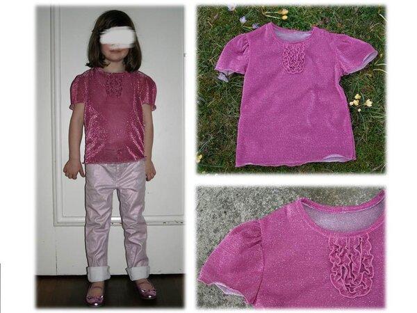 Glitzer-Bling-Bling-Shirt