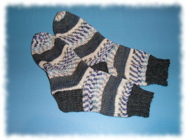 Reste Socken in Gr. 36-37
