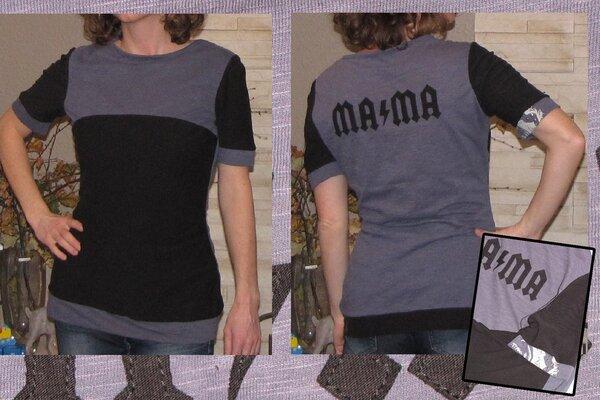 Recycling Upcycling - mein Rockershirt ...