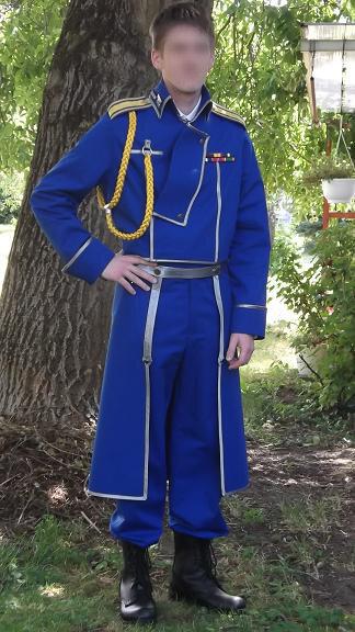 Uniform Roy Mustang