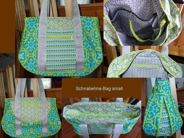 Schnabelina Bag in grün