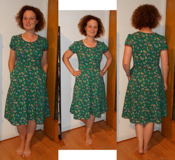 Einfaches Jerseykleid