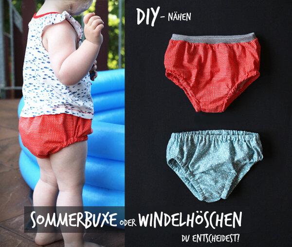 Sommershorts oder Windelhöschen - ihr entscheidet