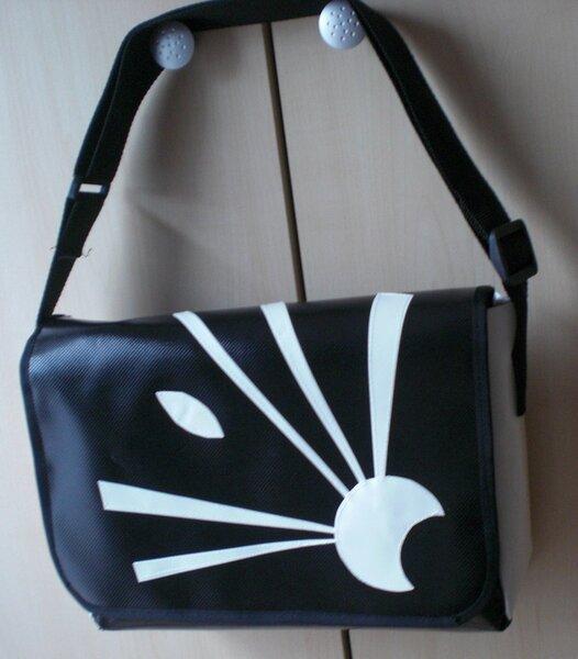 Blachentasche - Donnerstagtasche zum 50. Geburtstag einer Kollegin