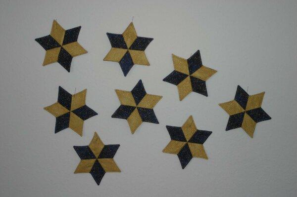 Acht der zehn Sterne, zwei sind schon Unterwegs