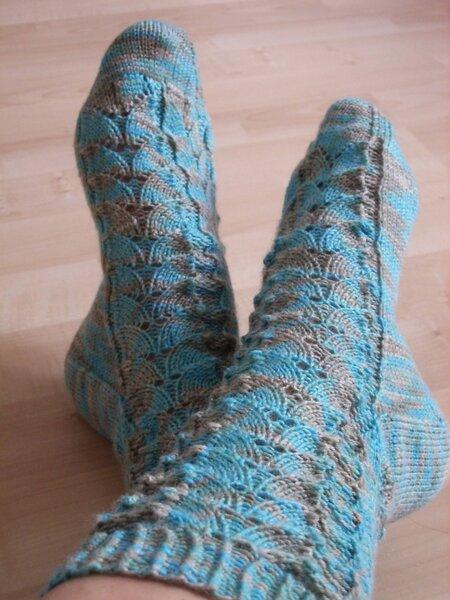 Synesthesia-Socken