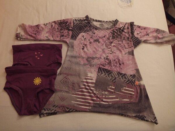 Tunika und Unterhosen
