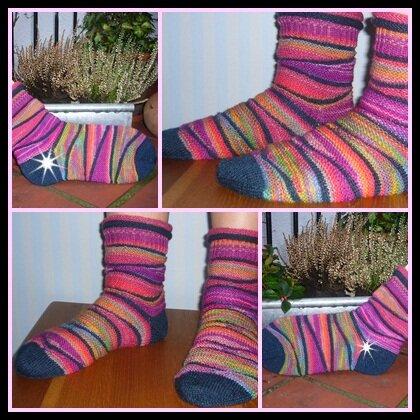 Twist-Socken