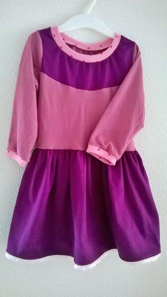 Kleid nach Farbenmix-Schnitt KleinFanö