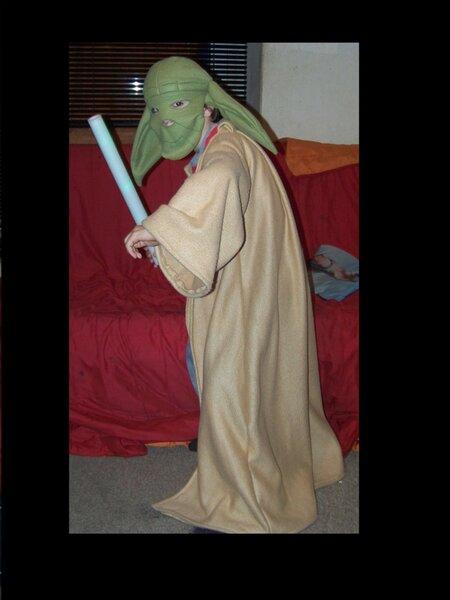 Yoda-Kostüm das 2.