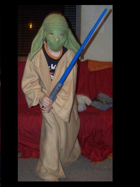 Yoda-Kostüm das 3.