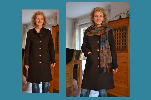 Mantel aus Burda 11/2010 - Mod. 102