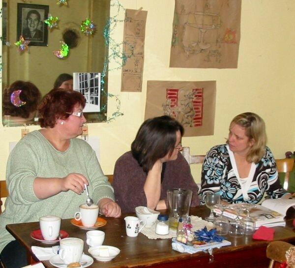 Kölner Nähbrunch, Januar 2008, Cafe Duddel