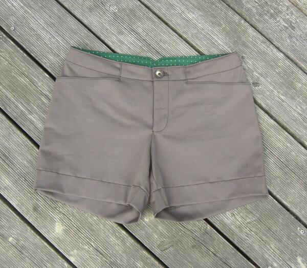 Schnittvision vol.3 k3ho3 Shorts von vorne