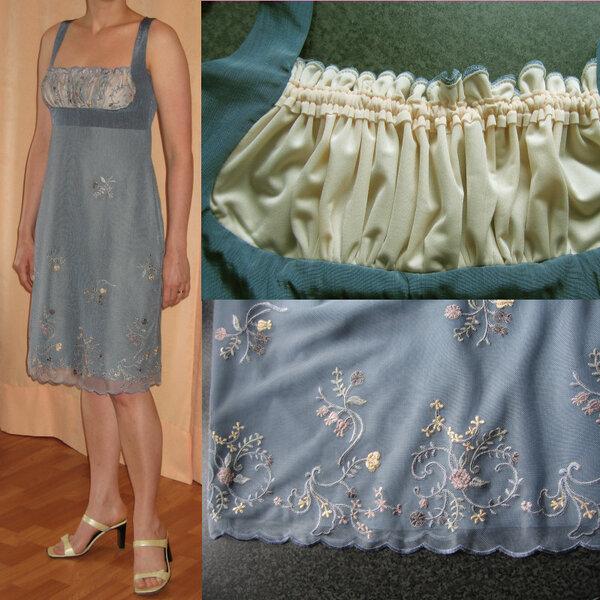 Kleid in Empirelinie