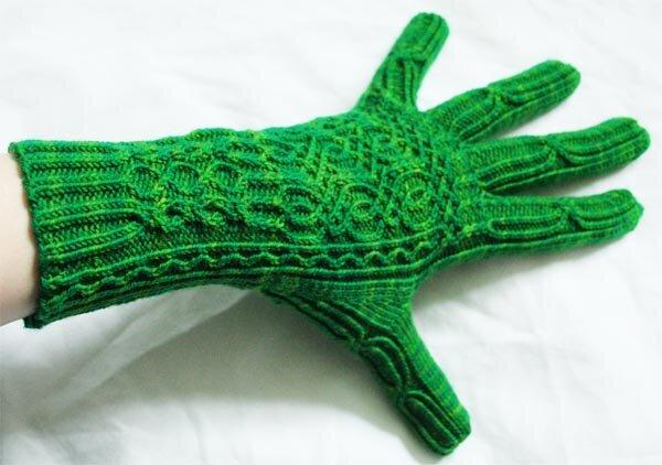 Wollmeisige Handschuhe
