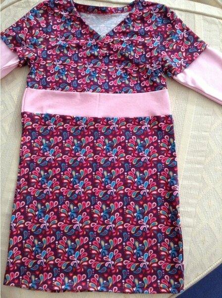 Kleid Martha mit doppeltem Arm von Zierstoff