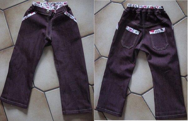 Mädchen-Jeans