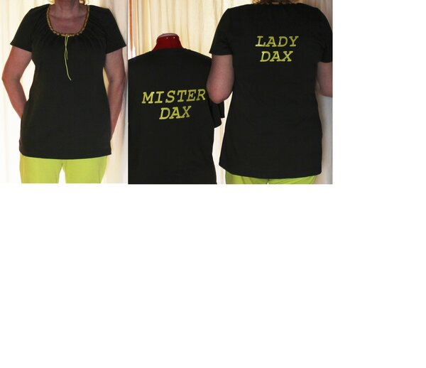 CarmenShirt aus Diana 42 Modell 31 L Gr. 38/40 + Partnershirt