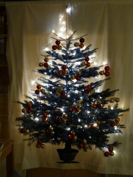 2-D-Weihnachtsbaum