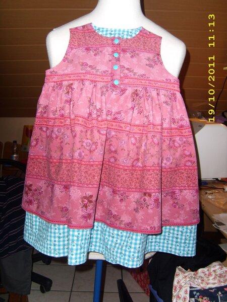 Doppellagiges Kleid Gr. 104