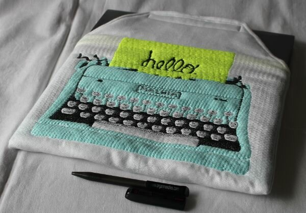 Notebook-Sleeve mit Vintage Touch
