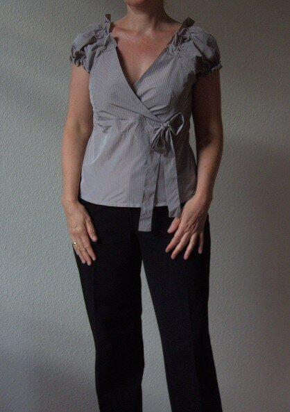 Burda 02/2009, Modell 129. Ein Designerschnitt vonTristano Onofri.