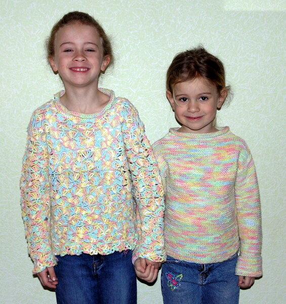 Kinder-Pullis gehäkelt & gestrickt