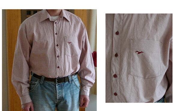 Hemd nach Neue Mode Schnitt