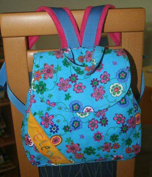 FM Kinderrucksack Huckepack - Meine Version
