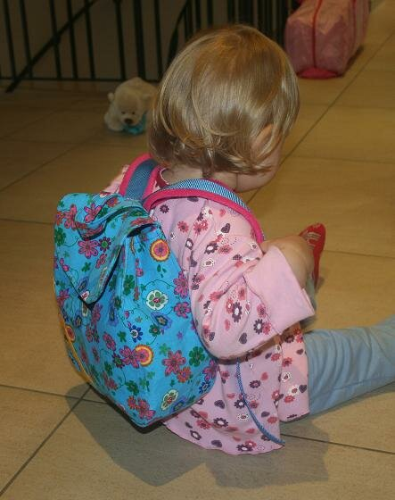 FM Kinderrucksack Huckepack am Modell