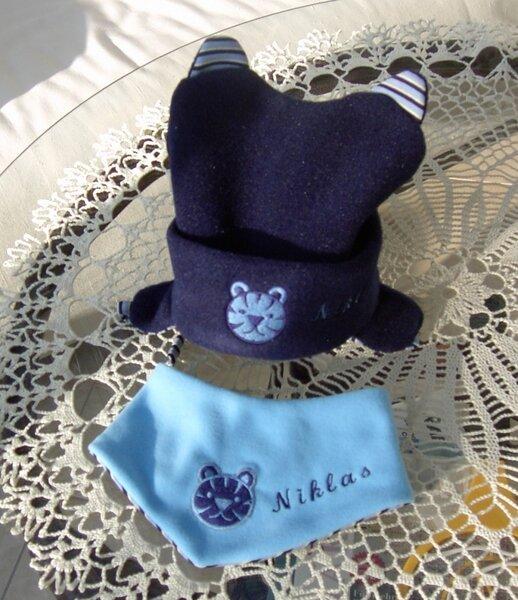 Mütze und Halstuch
