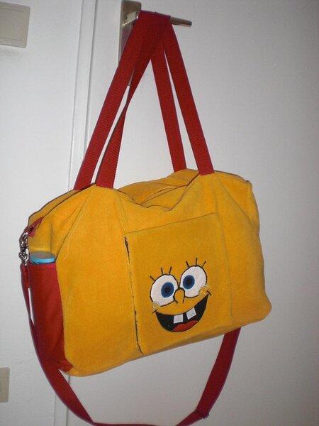 Spongebob-Wickeltasche