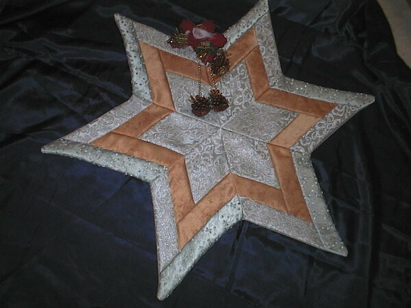Stern in silber