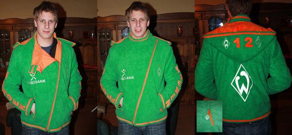 Werder Bremen Fleecejacke