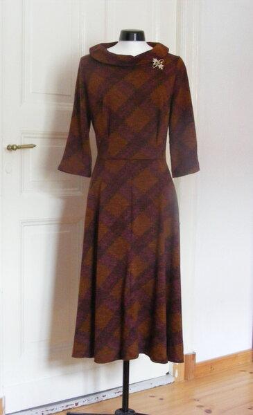 Kleid nach 50er Jahre Originalschnitt