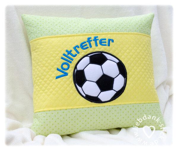 Volltreffer Fußball Kissen