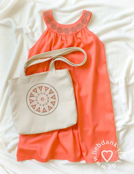 Batistkleid + Tasche