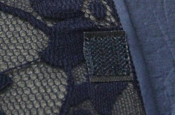 Kantenabschluss und Klettband