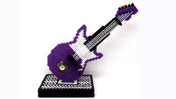 Gitarrenuhr 1