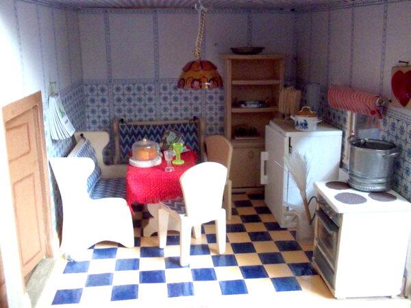 Küche bearbeitet