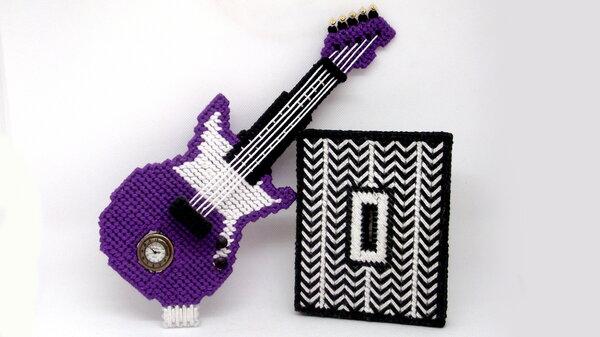 Gitarrenuhr 2